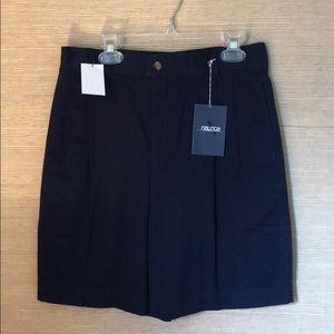 NWT Boys Navy Nautica Shorts sz 12